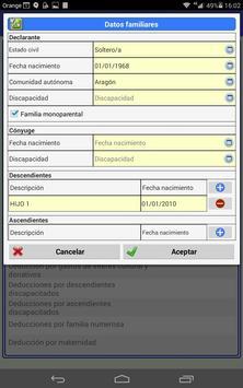 Precálculo IRPF 2016 screenshot 12
