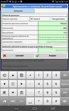 Precálculo IRPF 2016 screenshot 15