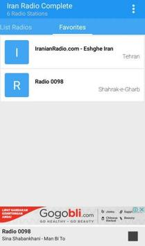 Iran Radio Complete apk screenshot