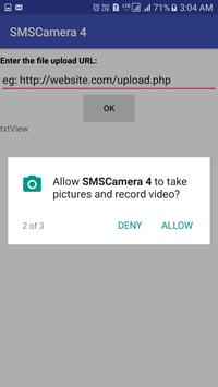 SMSCamera Shoot Phone Camera with SMS No Ads apk screenshot