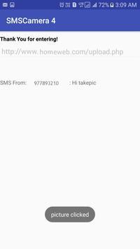 SMSCamera Shoot Phone Camera with SMS No Ads screenshot 5