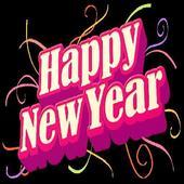 Happy New Year icon