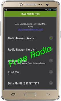 IRAQ RADIOS FREE poster