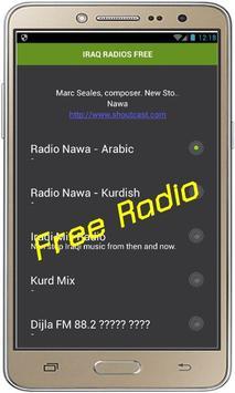 IRAQ RADIOS FREE screenshot 1