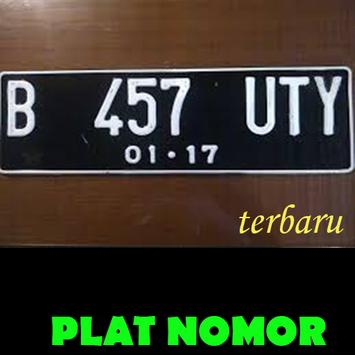 Plat Nomor Indonesia Terbaru poster