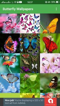 Butterfly Wallpapers screenshot 4