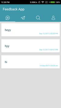 Sara Feedback Application screenshot 1