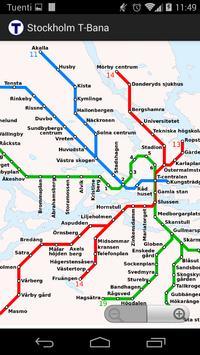 Stockholm T-Bana (offline) poster