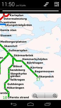 Stockholm T-Bana (offline) screenshot 1