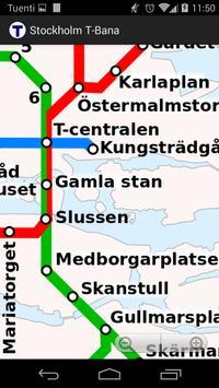 Stockholm T-Bana (offline) screenshot 2