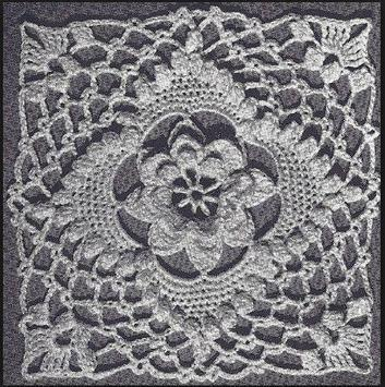 irish crochet designs poster