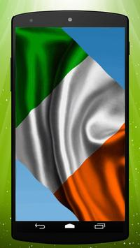 Irish Flag Live Wallpaper poster