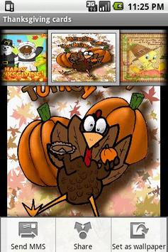 Thanksgiving cards poster