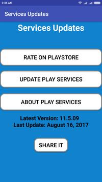Services Update for Play Services poster