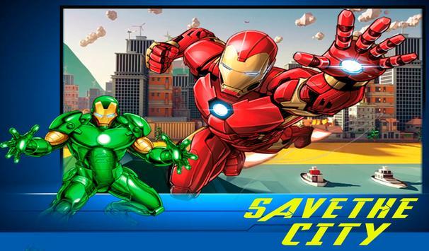 Iron Avenger Hero : Strike Force Battleground screenshot 8