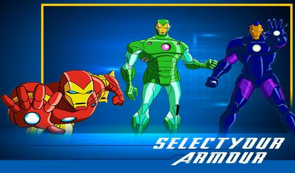Iron Avenger Hero : Strike Force Battleground screenshot 9