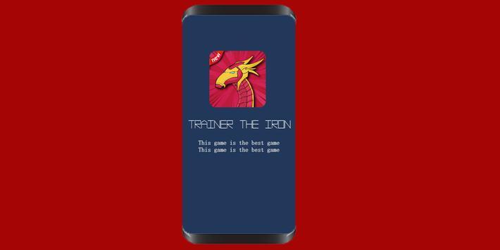 the iron dragon poster