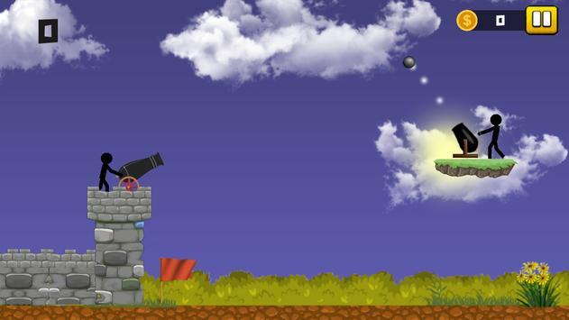 Stickman Cannon Shooter screenshot 5