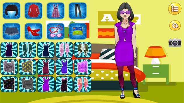 Fantastic Dressup Girl apk screenshot