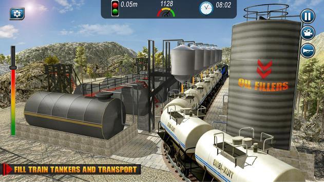 Oil Tanker TRAIN Transporter تصوير الشاشة 5