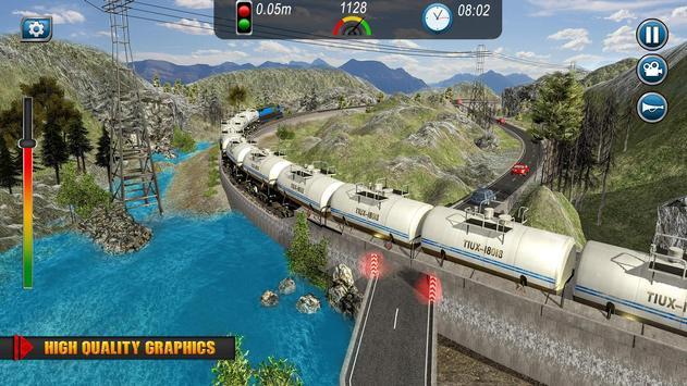 Oil Tanker TRAIN Transporter تصوير الشاشة 7