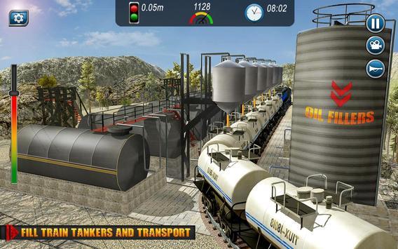 Oil Tanker TRAIN Transporter تصوير الشاشة 1