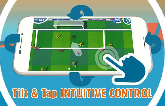 3d Feel Soccer : Tilt & Tap poster
