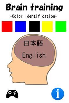 Brain Age measurement -Color- poster