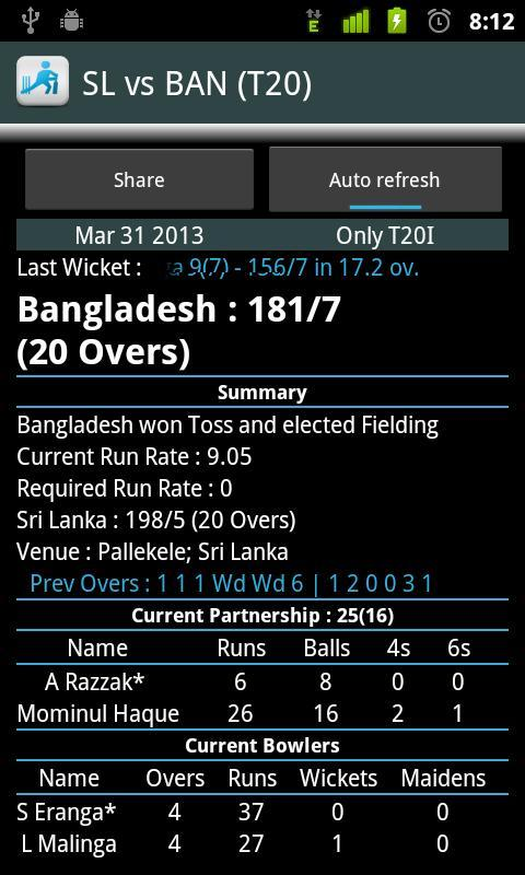 Live Cricket Score & Schedule for Android - APK Download