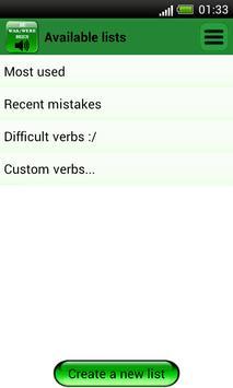 English Irregular Verbs screenshot 3