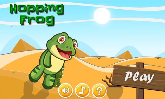 Hopping Frog poster
