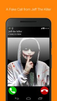 fake call from jeff the killer poster