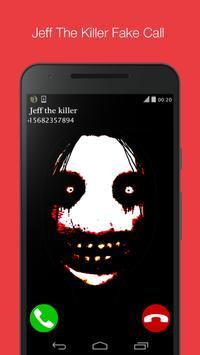 fake call from jeff the killer apk screenshot