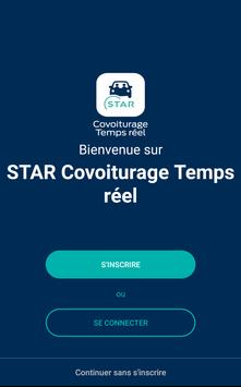 STAR Covoiturage Temps réel poster