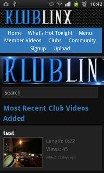 Klublinx apk screenshot