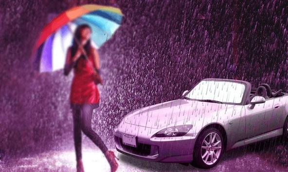 Rain Photo Frame poster