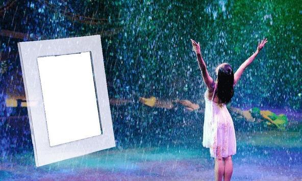 Rain Photo Frame screenshot 1