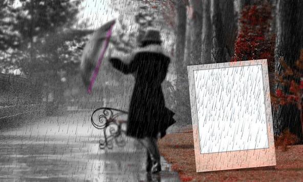 Rain Photo Frame screenshot 2