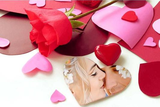 Romantic Photo Frame poster