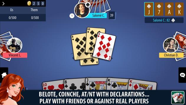 Belote Multiplayer apk screenshot