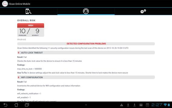 Mobile Security & Compliance apk screenshot