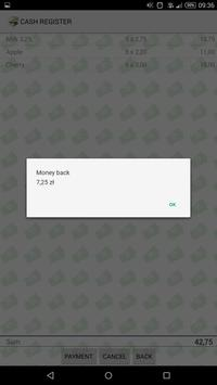 Shop - cash register apk screenshot