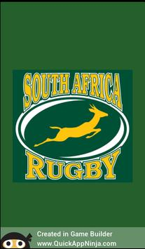 Springboks Trivia poster