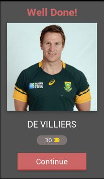 Springboks Trivia screenshot 2