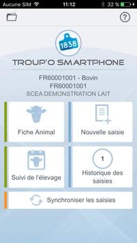 Troup'O smartphone poster