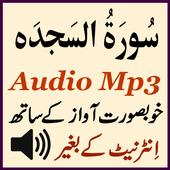 Amazing Sura Sajdah Audio App icon