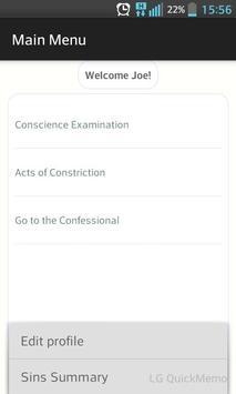 Catholic Confessional screenshot 2