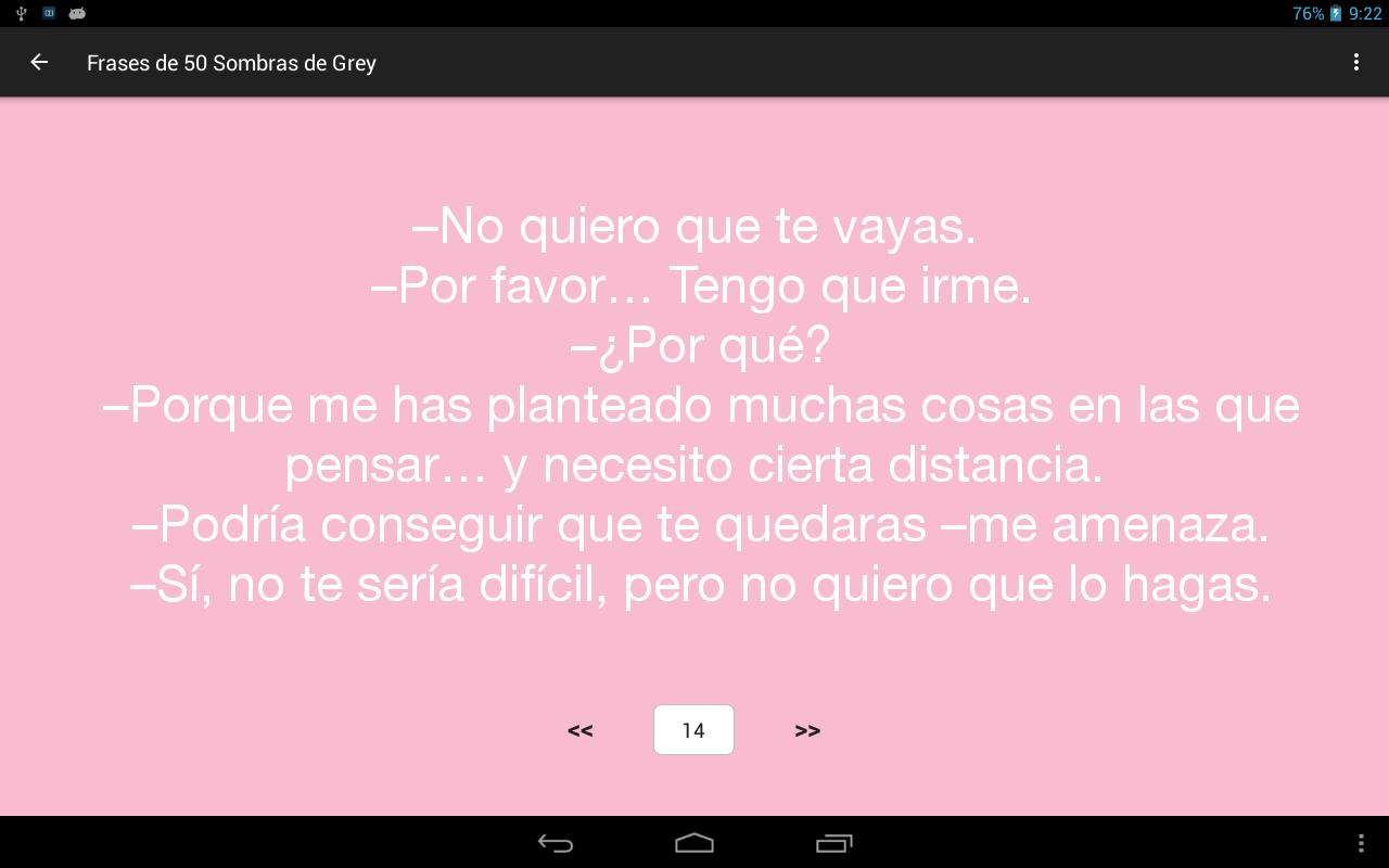 Frases De 50 Sombras De Grey For Android Apk Download