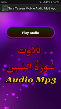 Sura Yaseen Mobile Audio Mp3 apk screenshot