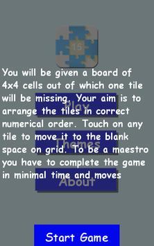 Puzzle Solver : 15 Puzzle screenshot 2
